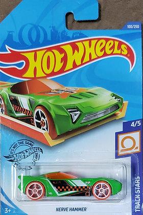 Hot Wheels Track Stars - Nerve Hammer