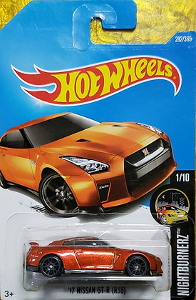 Hot Wheels Nightburnerz - '17 Nissan GT-R (R35)