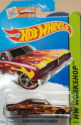 Hot Wheels Workshop - '74 Brazilian Dodge Charger