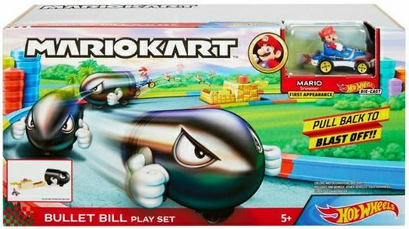 Hot Wheels Pista - Mario Kart Conjunto de Bill Bala