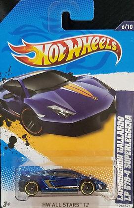 Hot Wheels All Stars - Lamborghini Gallardo LP 570-4 Superleggera