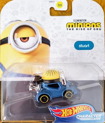 Hot Wheels Character Cars - Minions Stuart