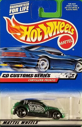 Hot Wheels CD Customs - Chrysler Pronto