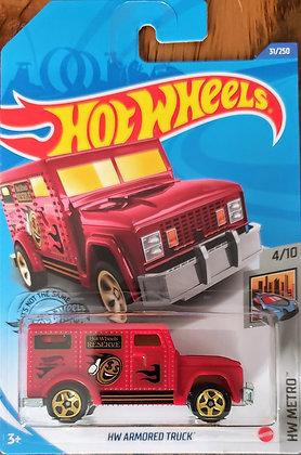 Hot Wheels Metro - HW Armored Truck