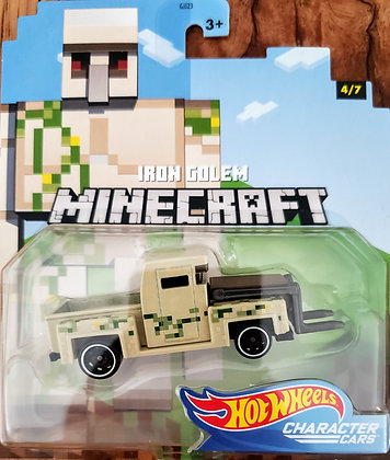 Hot Wheels Character Cars - Minecraft Iron Golem