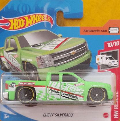 *T-Hunt* Hot Wheels Rescue  - Chevy Silverado