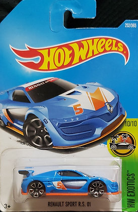Hot Wheels Exotics - Renault Sport R.S. 01
