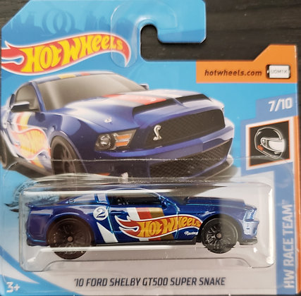 Hot Wheels Race Team - '10 Ford Shelby GT500 Super Snake
