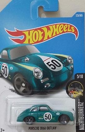 Hot Wheels Nightburnerz - Porsche 356A Outlaw Verde