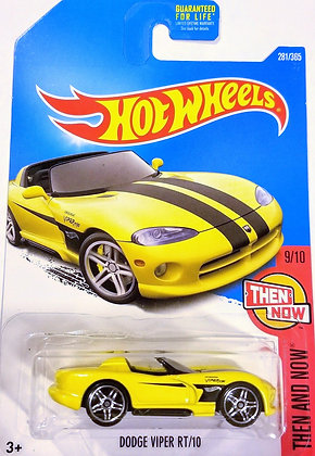 Hot Wheels Then and Now - Dodge Viper RT/10