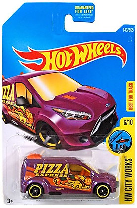 Hot Wheels City Works - Ford Transit Connect