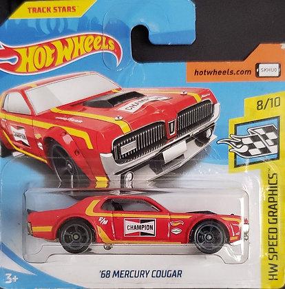 Hot Wheels Speed Graphics - '68 Mercury Cougar