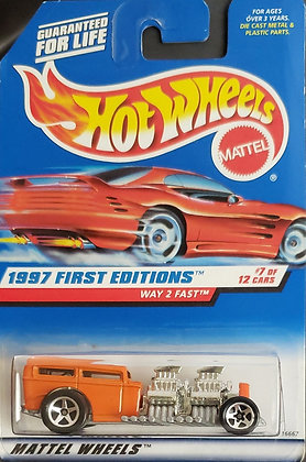 Hot Wheels First Editions - Way 2 Fast