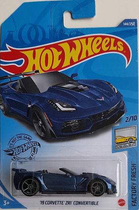 Hot Wheels Factory Fresh - '19 Corvette ZR1 Convertible