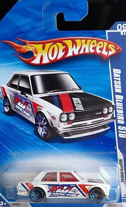 Hot Wheels Nightburnerz - Datsun Bluebird 510