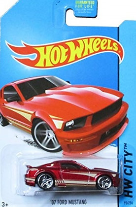 Hot Wheels City - '07 Ford Mustang