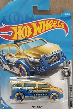 Hot Wheels Super Chromes - Speedbox