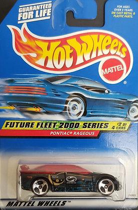 Hot Wheels Future Fleet 2000 - Pontiac Rageous