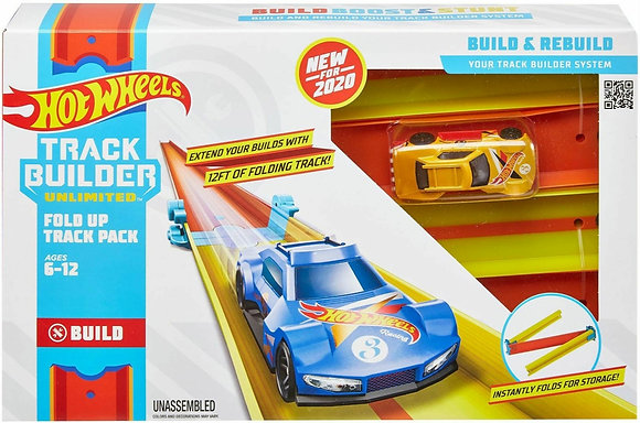 Hot Wheels Track Builder - Conjunto de Pista Dobravel