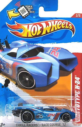 Hot Wheels Thrill Racers - Prototype H-24