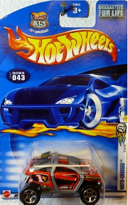Hot Wheels First Editions - Moto-Crossed
