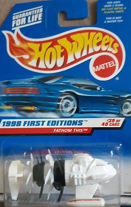 Hot Wheels First Editions - Fathom This