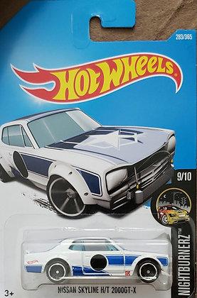 Hot Wheels Nightburnerz - Nissan Skyline H/T 2000GT-X
