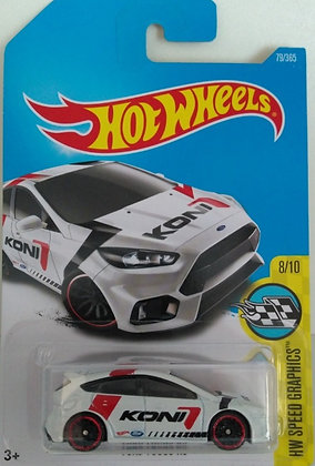 Hot Wheels Speed Graphics - Ford Focus RS