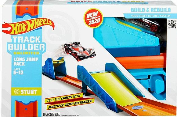 Hot Wheels Track Builder - Conjunto Salto Longo