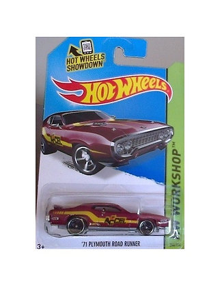 Hot Wheels Workshop - '71 Plymouth Road Runner
