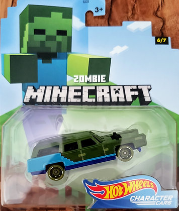 Hot Wheels Character Cars - Minecraft Zombie