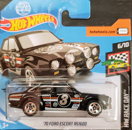 Hot Wheels Race Day - '70 Ford Escort RS1600