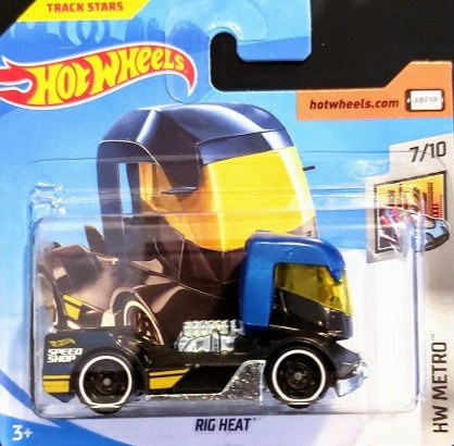 Hot Wheels Metro - Rig Heat