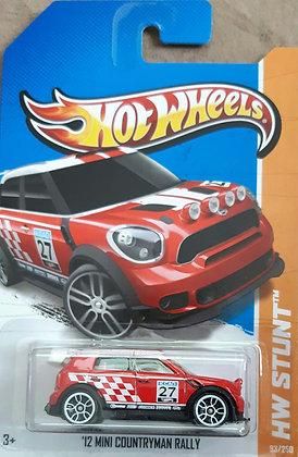 Hot Wheels Stunt - '12 Mini Countryman Rally