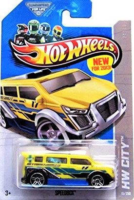 Hot Wheels City - Speedbox
