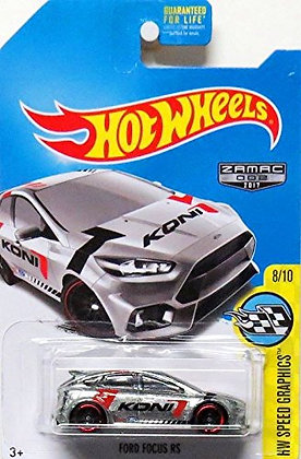 Hot Wheels Speed Graphics - Zamac Ford Focus RS
