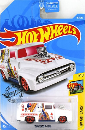 Hot Wheels Art Cars - '56 Ford F-100