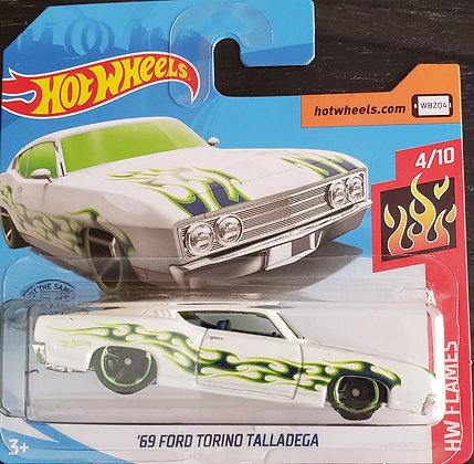 Hot Wheels Flames - '69 Ford Torino Talladega