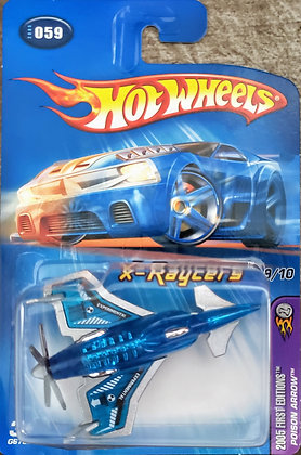 Hot Wheels X-Raycers First Editions - Poison Arrow