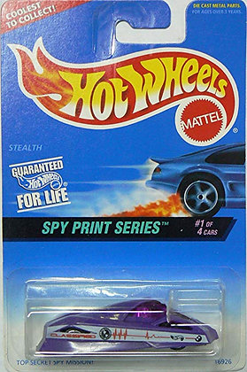 Hot Wheels Spy Print - Stealth
