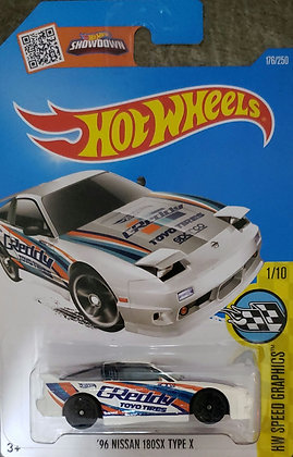 Hot Wheels Speed Graphics - '96 Nissan 180SX Type X
