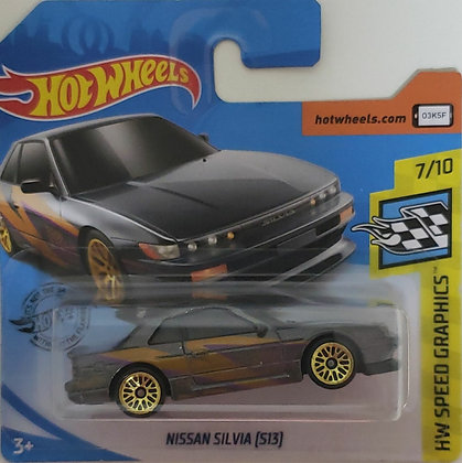 Hot Wheels Speed Graphics - Nissan Silvia (S13)