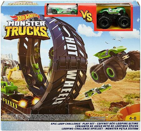 Hot Wheels Pista - Monster Truck Conjunto Desafio do Loop Epico