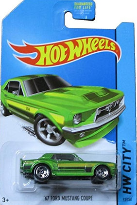 Hot Wheels City - '67 Ford Mustang Coupe