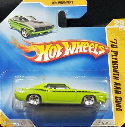 Hot Wheels Premiere - '70 Plymouth AAR Cuda