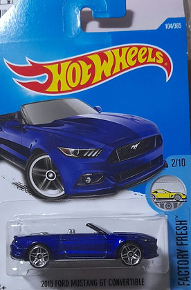 Hot Wheels Factory Fresh - 2015 Ford Mustang GT Convertible