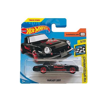 Hot Wheels Speed Graphics - Fairlady 2000 Preta