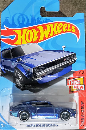 *SUPER T-Hunt* Hot Wheels Then and Now - Nissan Skyline 2000 GT-R