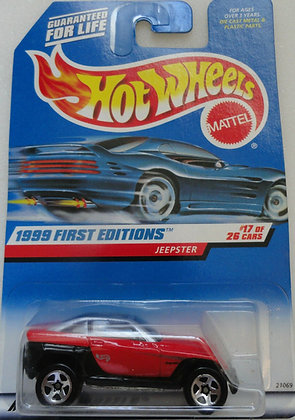 Hot Wheels First Editions - Jeepster