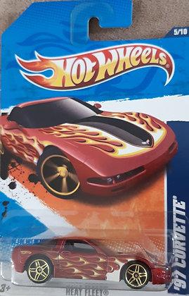 Hot Wheels Heat Fleet - '97 Corvette